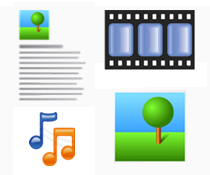images text audio video Content Diversity is the Key to Captivating Visitors