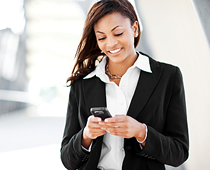woman browsing mobile phone 10 Tips To Make Your Website Mobile Friendly